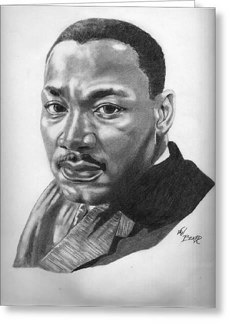 Martin Sheet Metal >> Dr. Martin Luther King Jr. Drawing by Van Beard
