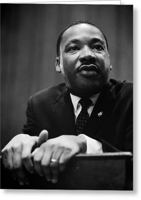 Dr Martin Luther King Greeting Card