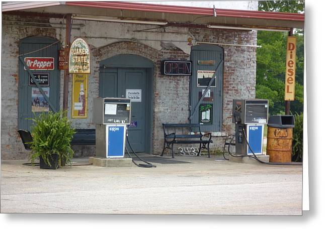 Greeting Card featuring the photograph Dr Pepper Diesel  Musella  by Douglas Fromm