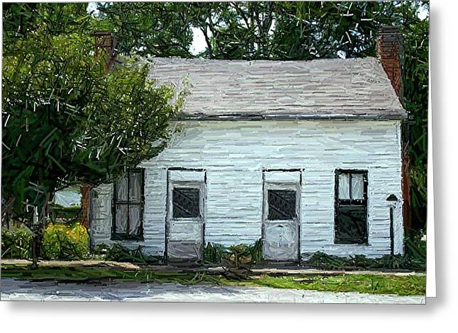 Dr. Polks House And Office - Perryville Ky Greeting Card