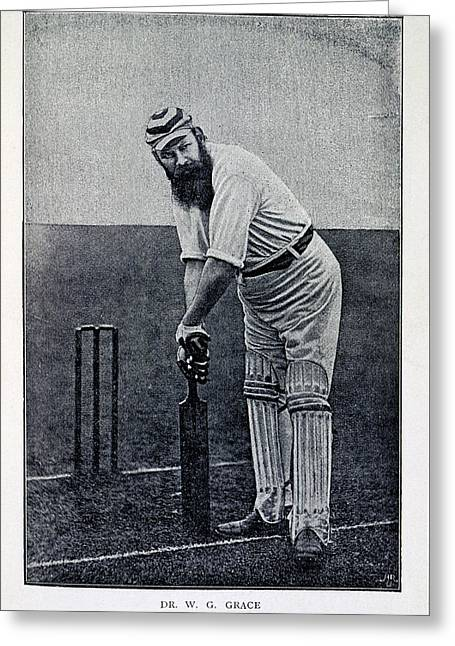 Dr. W.g. Grace Greeting Card by British Library