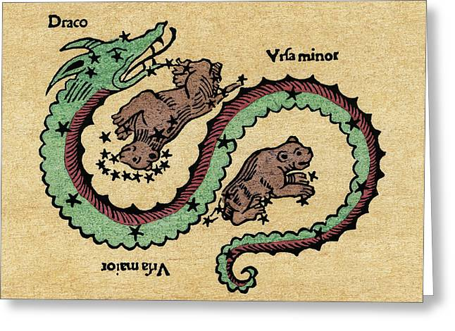 Draco, 1482 Greeting Card
