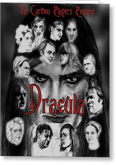 Dracula Greeting Card