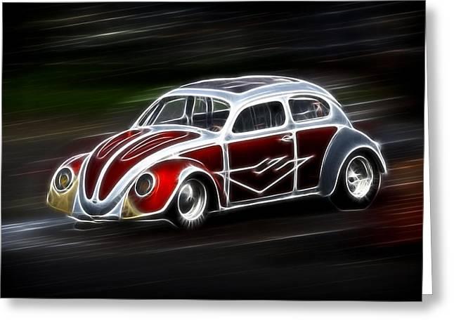 Drag Bug 4 Greeting Card by Steve McKinzie
