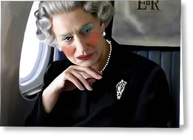 Drag Queen Helen Greeting Card