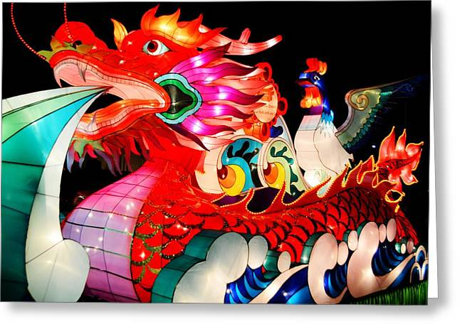 Dragon Float Greeting Card