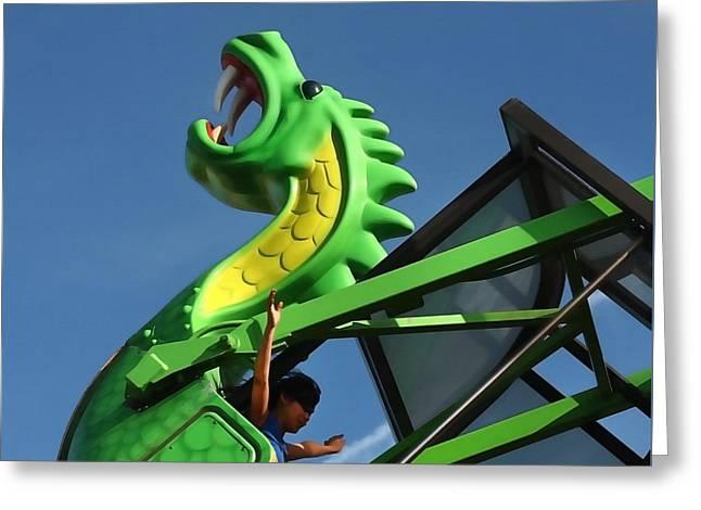 Dragon Ride Greeting Card