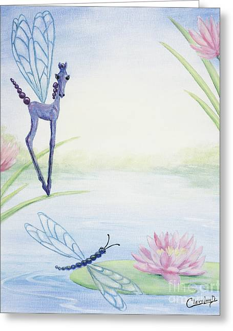 Dragonflicker Greeting Card