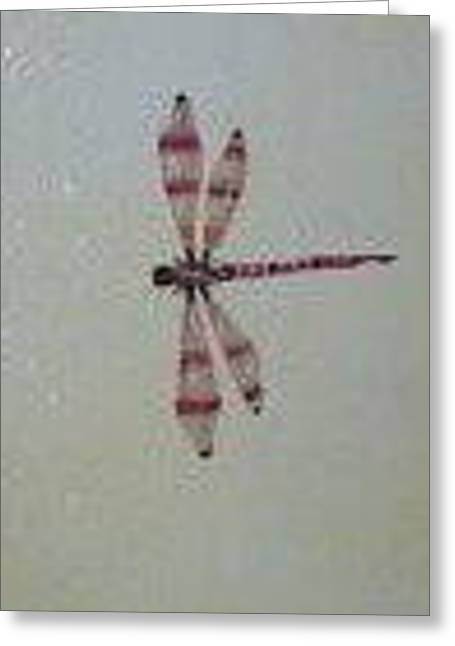 Dragonfly Greeting Card by Brent Vall Peterson