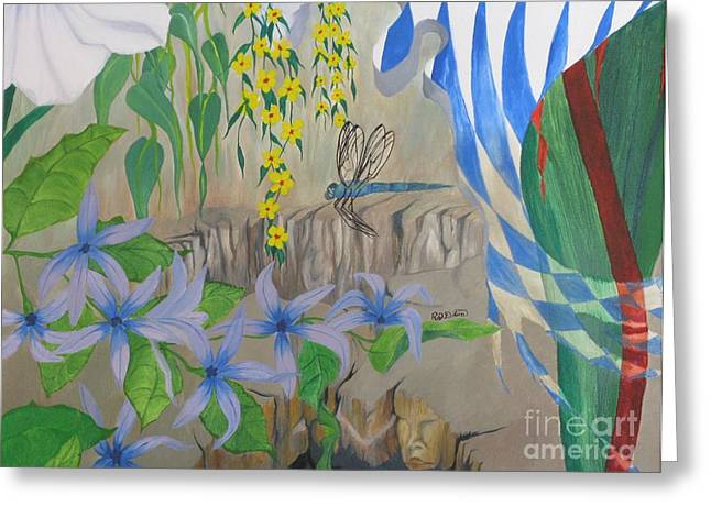 Dragonfly Dreams Greeting Card by Richard Dotson
