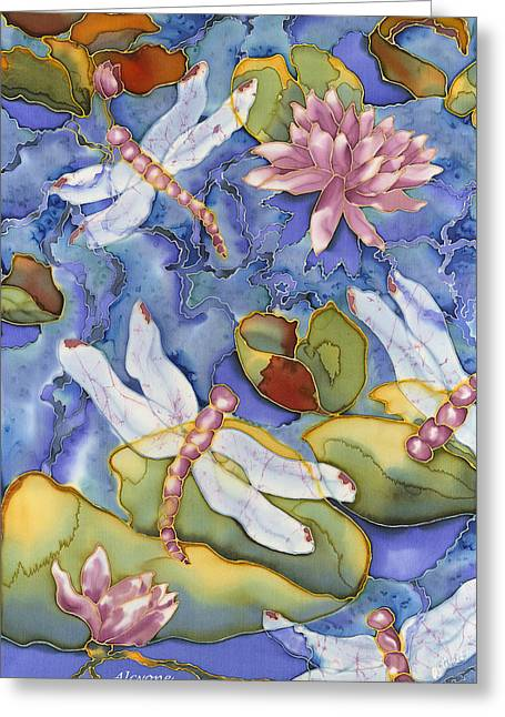 Dragonfly Medley Greeting Card