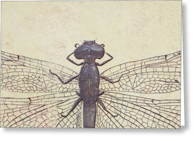 Dragonfly Greeting Card by Patricia Pinto