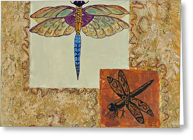 Dragonfly Two Greeting Card