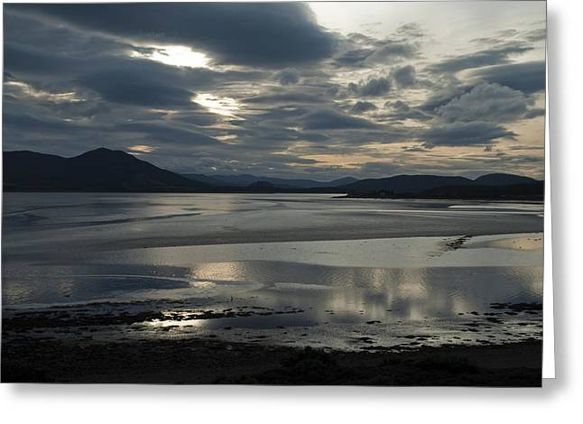 Drama Dornoch Firth Greeting Card