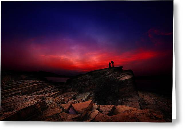 Dramatic Dawn Greeting Card