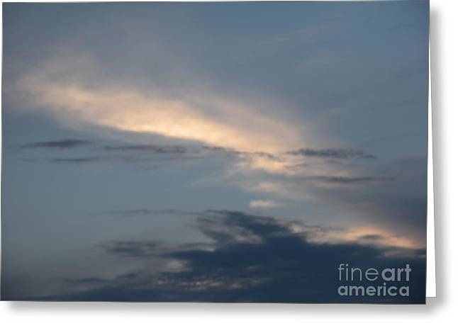 Dramatic Skyline Greeting Card by Joseph Baril