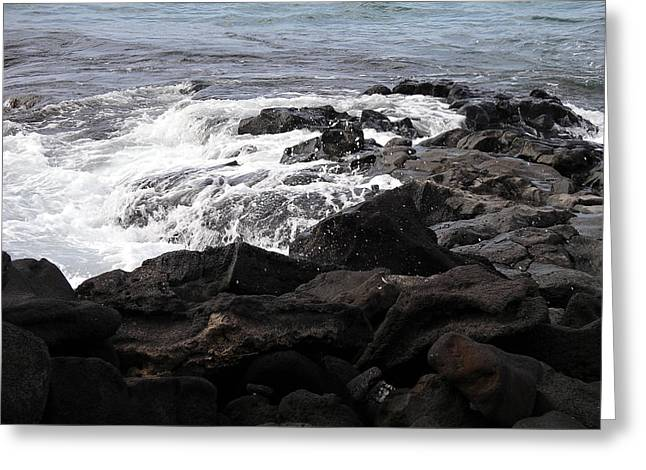 Dramatic Waters Greeting Card