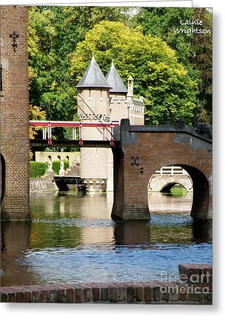 Drawbridge Castle Haar Greeting Card by Lainie Wrightson