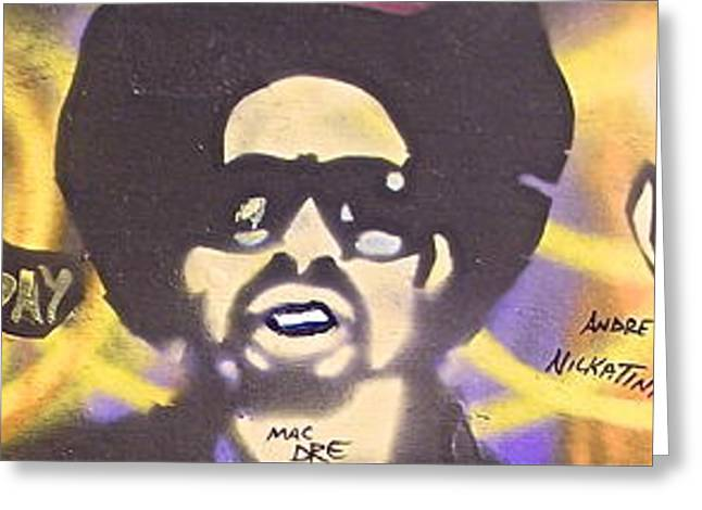 Dre Day Greeting Card by Tony B Conscious