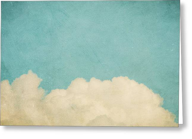Sky Art Greeting Cards - Dream A Little Dream Greeting Card by Violet Gray