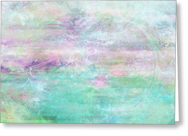 Dream - Abstract Art Greeting Card by Jaison Cianelli