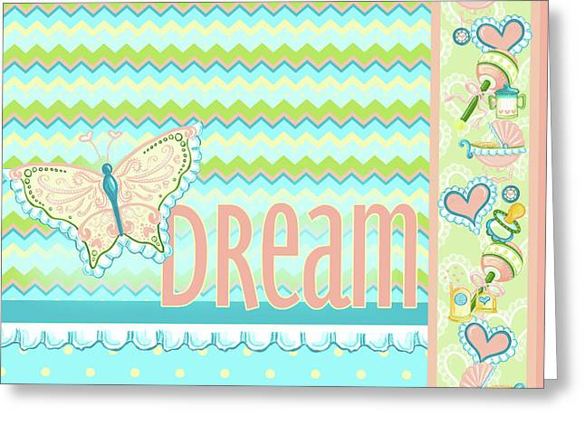 Dream And Discover I Greeting Card by Andi Metz