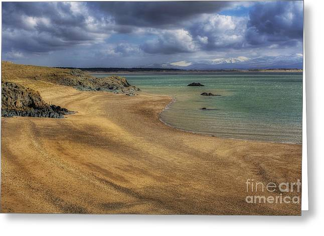 Dream Beach Greeting Card by Ian Mitchell