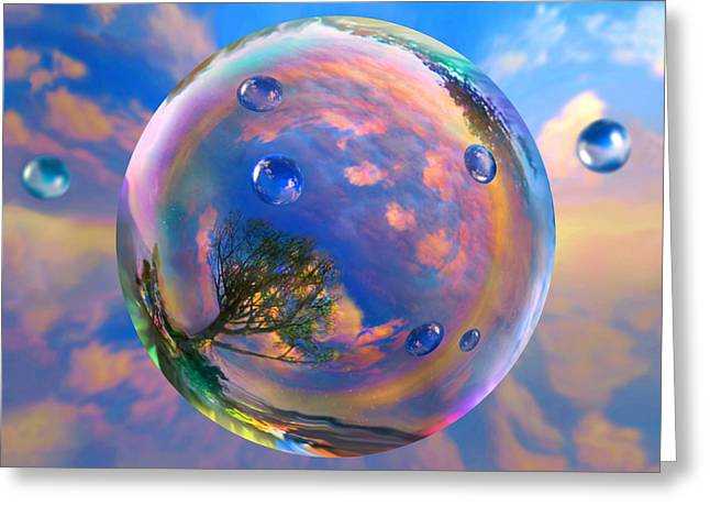 Dream Bubble Greeting Card