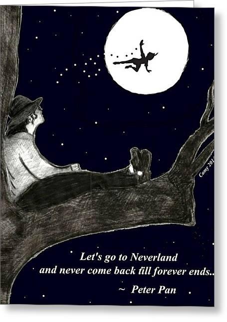 Dream Greeting Card by Camy De Mario