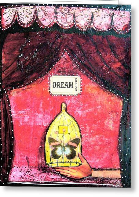 Dream Greeting Card by Carrie Todd