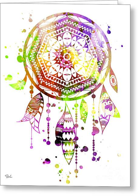 Dream Catcher 2 Greeting Card