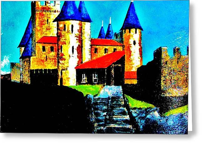 Dream Chateau Greeting Card