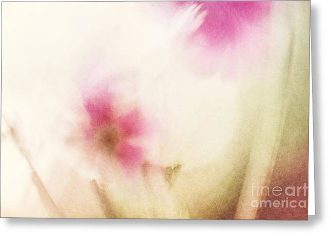 Dream Flower Abstract 1 Of 2 Greeting Card