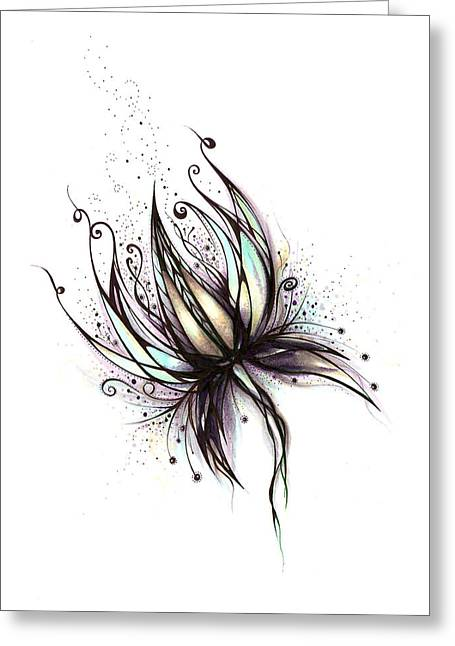Dream Flower Greeting Card