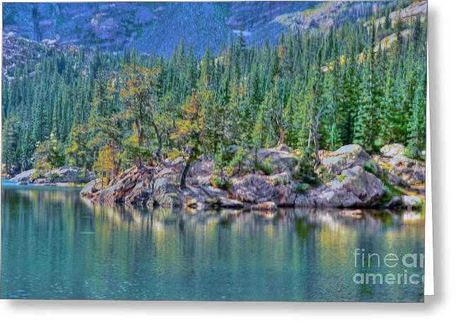 Dream Lake Greeting Card by Kathleen Struckle