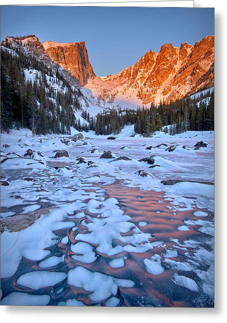 Dream Lake - Rocky Mountain National Park Greeting Card by Ronda Kimbrow