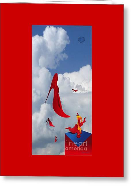 High Heels Paradise Of Matador M5 Greeting Card by Johannes Murat