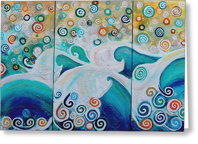 Dream Of The Ocean Greeting Card