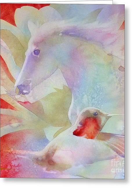 Dream Greeting Card by Robert Hooper