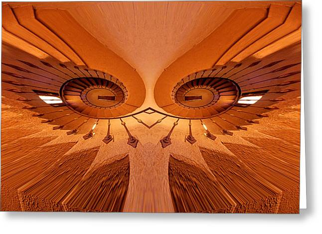 Dream Stairs-4 Greeting Card by Paul W Faust -  Impressions of Light