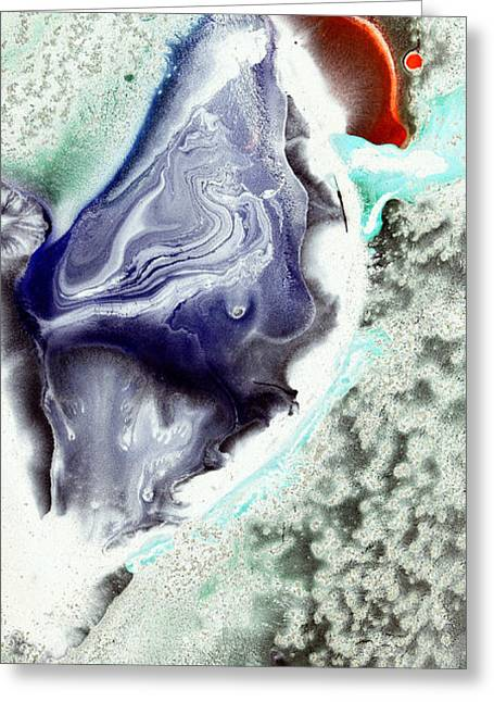 Dream Traveler Greeting Card by Christine Ricker Brandt