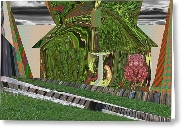 Dream Urban Hut From India What Else Do I Want I Want To Move Away That Drainage There Is Lot Of Spa Greeting Card