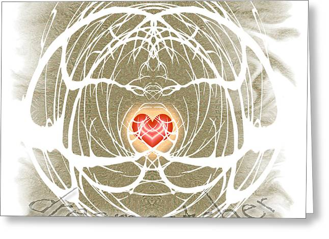 Dreamcatcher Greeting Card by Methune Hively