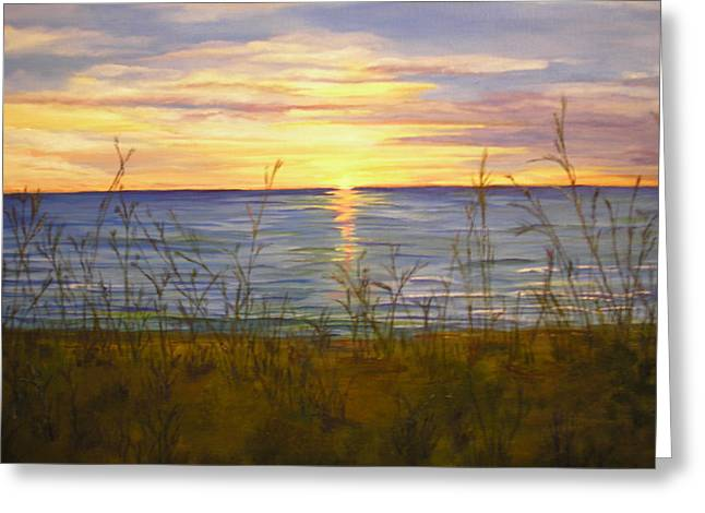 Dreamers Sunrise Greeting Card by Cheryl Damschen