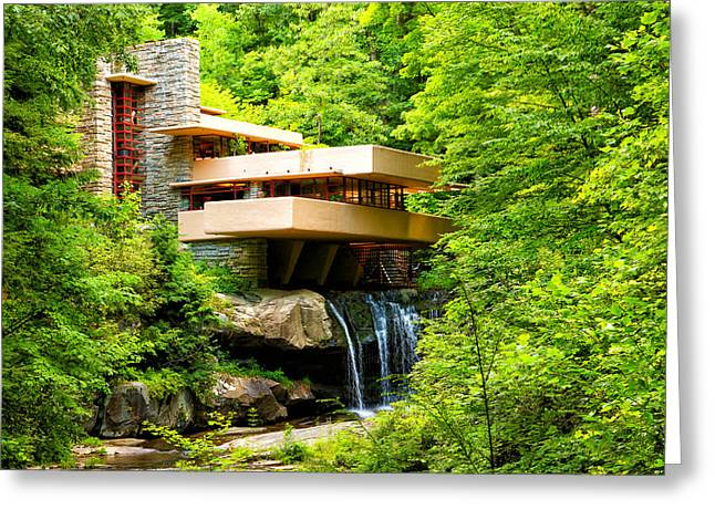 Dreaming Of Fallingwater 3 Greeting Card