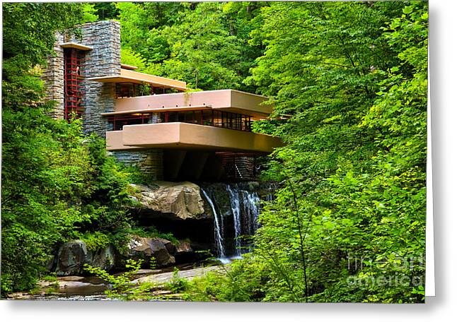 Dreaming Of Fallingwater 4 Greeting Card