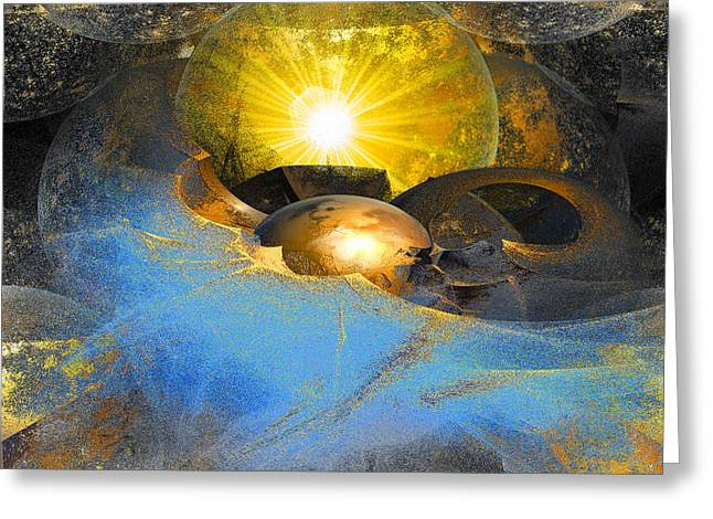 Dreamland Greeting Card by Michael Durst