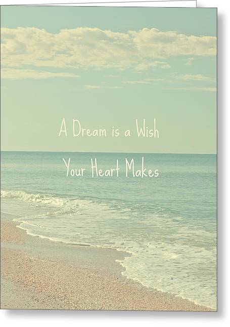 Dreams And Wishes Greeting Card