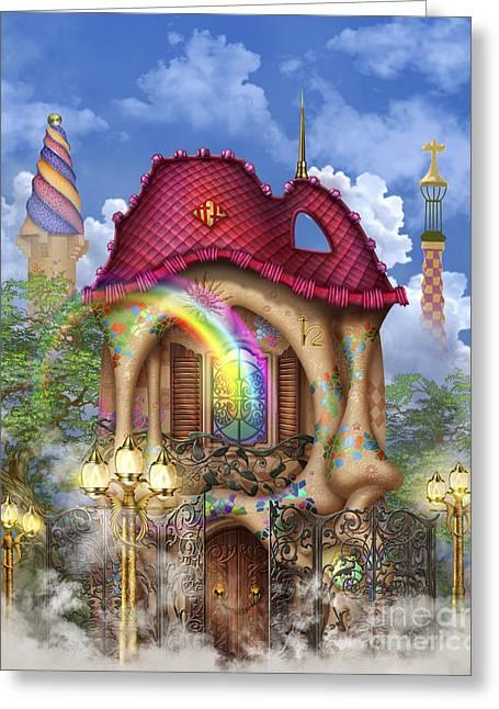 Dreams Of Gaudi Greeting Card