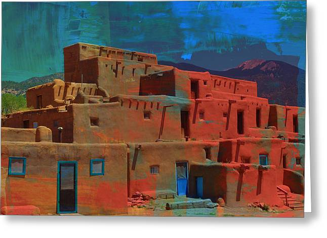 Dreams Of Taos Greeting Card